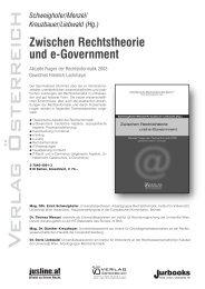 Schweighofer/Menzel/ Kreuzbauer/Liebwald (Hg.) - Universität Wien