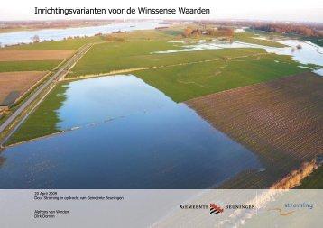 Inrichtingsvarianten voor de Winssense Waarden - Stroming