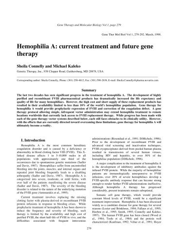 08. Connelly 1 (Conv) .pdf - Gene Therapy & Molecular Biology
