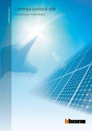 Soluzioni per il fotovoltaico - Professionisti BTicino