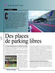 Des places de parking libres - Schneider