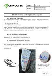 Datum 15/03/13 Betreff Sicherheitsmitteilung n°2013/03 ... - Sup'Air