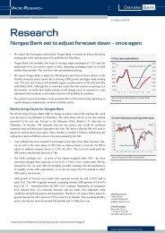 Norges Bank - Danske Analyse - Danske Bank