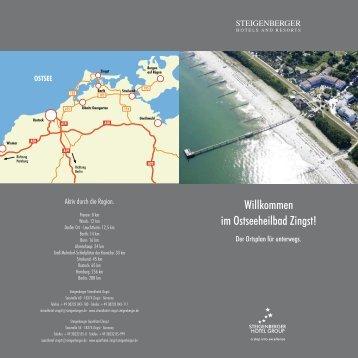 Ortsplan Zingst - Steigenberger  Hotels and Resorts