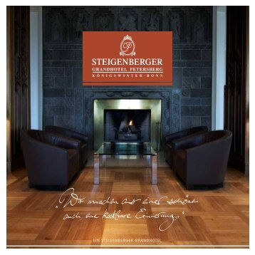 Inspirationen - Steigenberger Hotels and Resorts