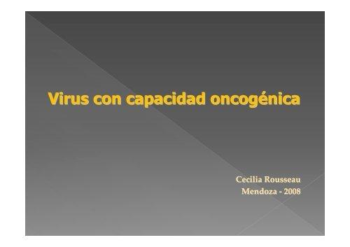Virus con capacidad oncogénica