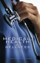 Medical Directory 2010 - Wise County Messenger