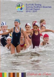 2010-2011 Annual Report - Surf Life Saving - Sydney Northern ...