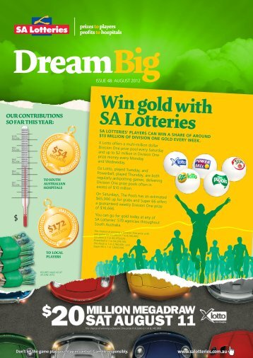 Issue 48 - August 2012 - SA Lotteries