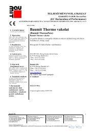 Thermo vakolat - TNyLokok - Baumit