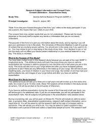 exacerbation consent form - Bad Request - University of Wisconsin ...