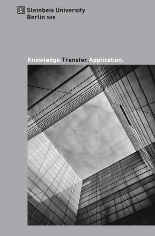 """Knowledge. Transfer. Application."" (pdf) - Steinbeis-Hochschule ..."