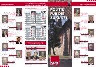 POLITIK FÜR DIE ZUKUNFT - SPD Uplengen