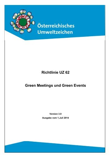 UZ62_R3.0a_Green Meetings und Green Events_2014