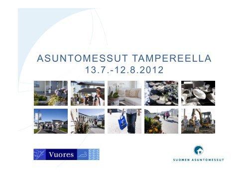 ASUNTOMESSUT TAMPEREELLA