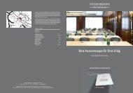 Hotelplaner Tagung & Veranstaltung - Steigenberger Hotels and ...