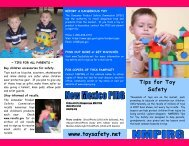 Tips for Toy Safety - Public Interest Network