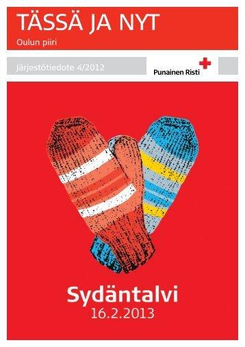Tässä ja Nyt 4-2012 - RedNet - Punainen Risti