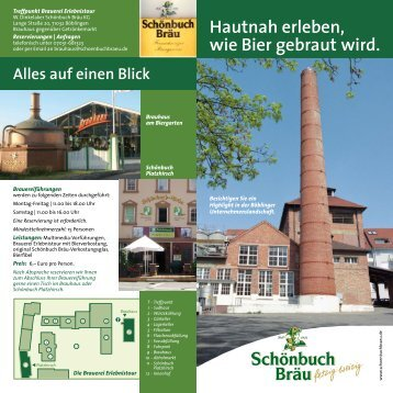 Brauerei Erlebnistour - Stadtleben Böblingen