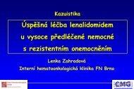 MUDr. Lenka Zahradová - CMG