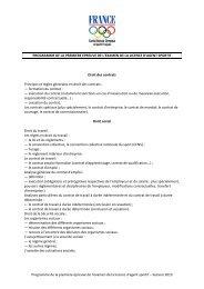 Session 2013 - Programme premi re épreuve examen agent sportif.pdf