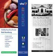 Volkshochschule - Vhs Bad Homburg