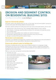 erosion and sediment control on residential building sites