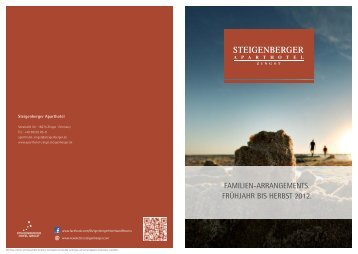 Familien-arrangements. - Steigenberger Hotels and Resorts