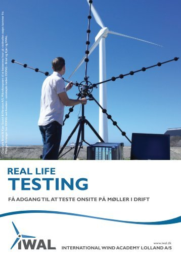 Real Life Testing - International Wind Academy Lolland A/S