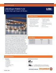 LINEARlight POWER FLEX - Osram Sylvania
