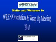 WREN Welcome - Water Resources Education Network - League of ...