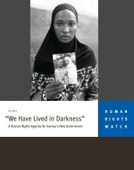 """""""We Have Lived in Darkness"""" - Human Rights Watch"""