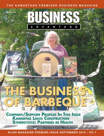 THE BUSINESS OF BARBEQUE - Admax Marketing