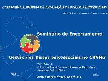 campanha europeia de avaliação de riscos psicossociais