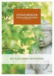 DaySpa Programm 2012 - Steigenberger Hotel Treudelberg Hamburg