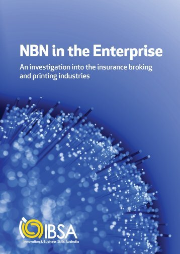 NBN in the Enterprise - Innovation & Business Skills Australia