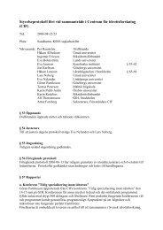 Protokoll styrelsemöte 2006-08-22 (pdf, 39 kB) - GIH