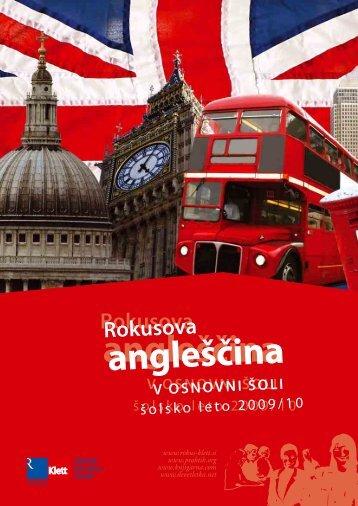 Rokusova angleščina - predstavitveni katalog za šolsko leto 2009/10