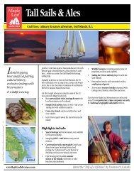 Tall Sails & Ales - Maple Leaf Adventures