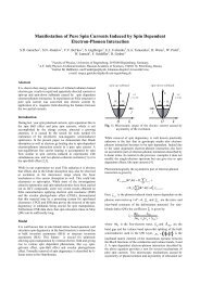 Manifestation of Pure Spin Currents Induced by Spin ... - Physik
