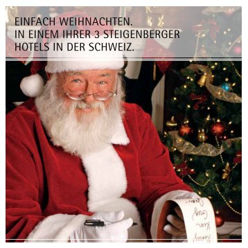 Download Weihnachtsfeier - Steigenberger Hotels and Resorts