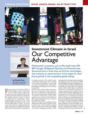 to read the Full Article - Invest in Israel