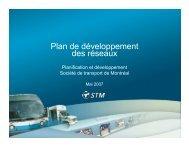 Plan_dev_réseaux.ppt [Lecture seule] - Ville de Montréal