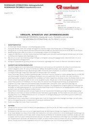 AGB d - Rosenbauer International AG
