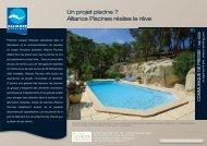 Un projet piscine ? Alliance Piscines réalise le rêve