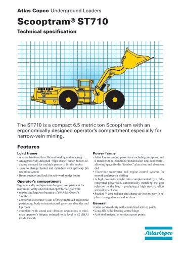 Scooptram® ST710