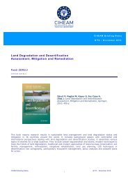 Land Degradation and Desertification Assessment, Mitigation and ...