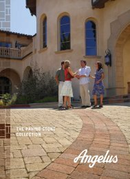 THE PAVING STONE COLLECTION