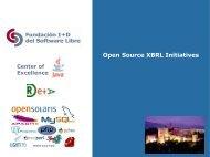 Open Source XBRL Initiatives - Eurofiling