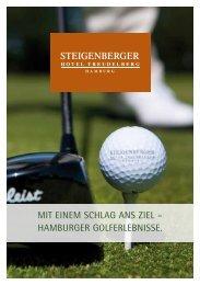 Golfbroschüre 2012 - Steigenberger Hotel Treudelberg Hamburg